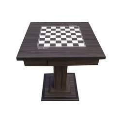Mesa para jogo de Dama e Xadrez Lacca Luxo