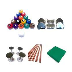 Kit completo para reparo em mesas de bilhar