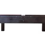 Mesa de bilhar com 4 pés 2.25x1.25 Grande com gaveta e fechadura