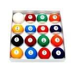 Jogo de bolas de bilhar importado com faixa