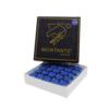 Sola ponteira azul em couro Montante caixa com 50 unidades