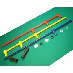 Jogo de varão completo em diversas cores